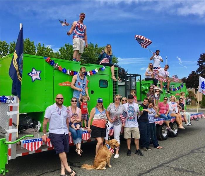 SERVPRO of Lynnwood Marches in the 4th of July Parade